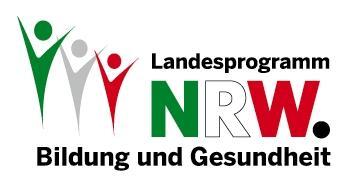 Logo Landesprogramm NRW - Bildung und Gesundheit